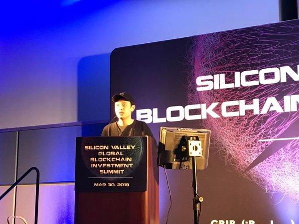 在影链创始人、CEO Rain Huan 先生发表精彩演讲