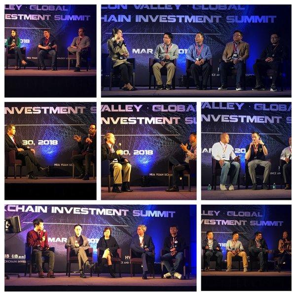 GBiB 硅谷-全球区块链投资峰会现场讨论
