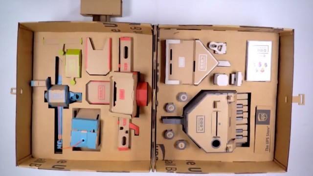 受Labo灵感激发 UPS打造便携式拉杆纸箱