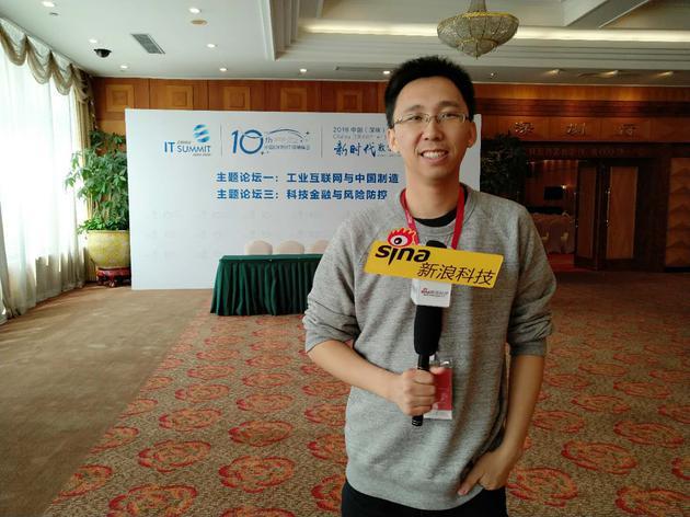 唐文斌接受新浪科技专访