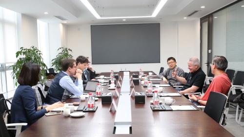 卢森堡代表团参访连连集团 共话创新金融科技合作